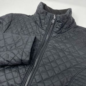 The North Face Quilted Nylon Puffer Zip Jacket